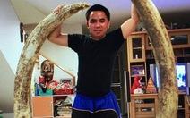 Thái Lan bắt trùm buôn lậu ngà voi gốc Việt