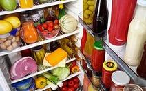 Trữ thực phẩm an toàn cho ngày tết