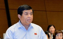 Bộ trưởng Nguyễn Chí Dũng: 'Quốc hội duyệt hết được 9.000 dự án đầu tư công không?'