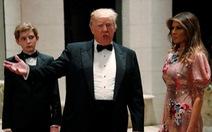 Ông Trump chúc 'kẻ thù' năm mới 'an lành, hạnh phúc'