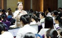 Cô giáo 'chuyên gia giáo dục toàn cầu'