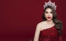 Phạm Hương với bộ ảnh chia tay vương miện Hoa hậu Hoàn vũ