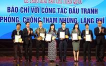 Tuổi Trẻ đoạt giải B báo chí đấu tranh chống tham nhũng