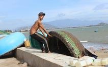 Đảo Song Tử Tây gió giật cấp 8, sóng cao 2-3m