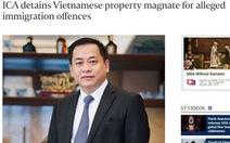 Singapore có thể đơn phương trục xuất Vũ 'nhôm'