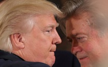 Ông Trump: Bannon 'mất trí rồi'