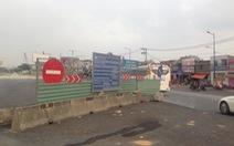 Thi công công trình quá hạn gây cản trở giao thông