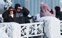 Nước Mỹ rối bời vì lạnh