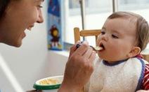 Dinh dưỡng cho trẻ ăn dặm