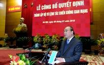 Việt Nam thành lập Bộ tư lệnh Tác chiến không gian mạng