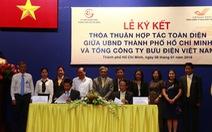 TP.HCM ký kết thỏa thuận hợp tác với Bưu điện Việt Nam