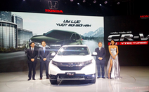 Honda Việt Nam công bố giá bán lẻ CR-V từ 1,1 tỉ