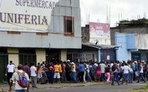 Nạn cướp lương thực hoành hành ở Venezuela
