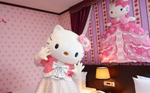 Làm công chúa trong khách sạn Hello Kitty
