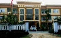 Bốn tháng, giám đốc trung tâm y tế huyện chi tiếp khách 300 triệu