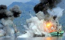 Nội bộ Indonesia kêu gọi không phá hủy tàu cá trái phép bị bắt