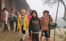 Rét đậm, học sinh Nghệ An có thể phải nghỉ dài ngày