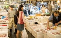 Đi chợ Tsukiji ở Tokyo tha hồ ăn hải sản