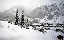 13.000 du khách mắc kẹt do bão tuyết trên dãy Alps