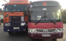 Đề nghị đình chỉ tài xế xe buýt truy đuổi container sau tai nạn