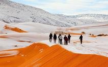 Thế giới trong tuần qua ảnh: tuyết rơi ở sa mạc Sahara