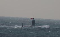 Nhật công bố hình ảnh tàu ngầm Trung Quốc gần đảo tranh chấp