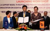 Hơn 2,5 triệu USD phòng chống bạo lực phụ nữ, trẻ em