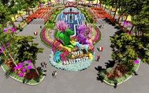 7 kỳ quan thế giới bằng hoa tươi tại Sun World Halong Complex