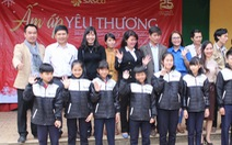 SASCO tặng áo ấm, học bổng cho trẻ vùng cao