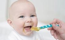 Dinh dưỡng cho trẻ dưới 1 tuổi
