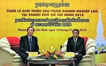 Lần đầu tổ chức tuần lễ sản phẩm Lào tại TP.HCM