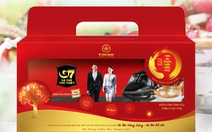Cà phê Trung Nguyên đưa ra ba mẫu hộp quà Tết