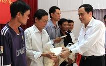 Mặt trận tổ quốc VN tặng quà tết tại Cần Thơ, Hậu Giang