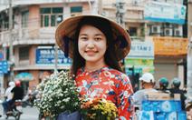 Xúng xính áo dài đón Tết ở 'làng người Hoa'