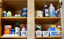 """Đừng """"kiêng"""" trữ thuốc trong nhà"""