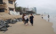 Tìm giải pháp xử lý dứt điểm sụt lở bãi biển Đà Nẵng