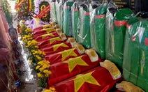 Tìm được 40 hài cốt liệt sĩ bên sông Thạch Hãn từ tin báo của dân