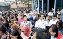 Indonesia, Alaska động đất mạnh, nhiều người bị thương