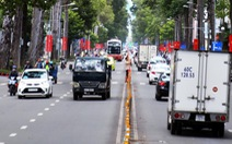Ngày 26-1, cấm xe một số tuyến đường trung tâm TP.HCM