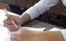 Lộ đề toán ở Khánh Hòa: thầy giáo đem đề cho học sinh dạy kèm