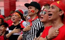 Nghệ sĩ Sài Gòn tụ hội cổ vũ đội tuyển U23 Việt Nam
