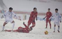 Những clip U23 Việt Nam trên sân tuyết khiến người xem rơi nước mắt