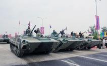 Trung Quốc viện trợ Campuchia 100 xe tăng, xe bọc thép