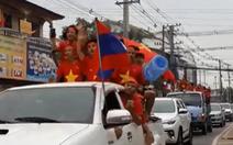 Video clip 'hậu' mừng chiến tích U23 VN được lan truyền mạnh