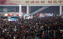 Trung Quốc ứng dụng công nghệ trong 'mùa di cư' lớn nhất