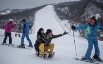 Khu trượt tuyết siêu sang của ông Kim mở cửa cho VĐV Hàn