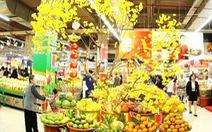 Tết này bạn vào siêu thị đi 'chợ hoa'