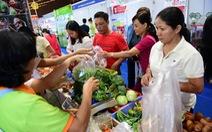 Chợ phiên, triển lãm nhắm vào thực phẩm an toàn ngày Tết