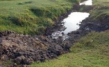 Tốn gần 1,5 tỉ đồng vì đổ trộm chất thải