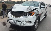Khởi tố, bắt giam tài xế ôtô tông chết hai nữ sinh